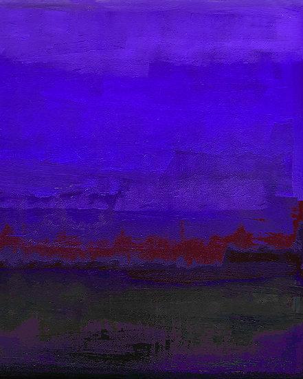 On the Lake - Ultramarine Indigo
