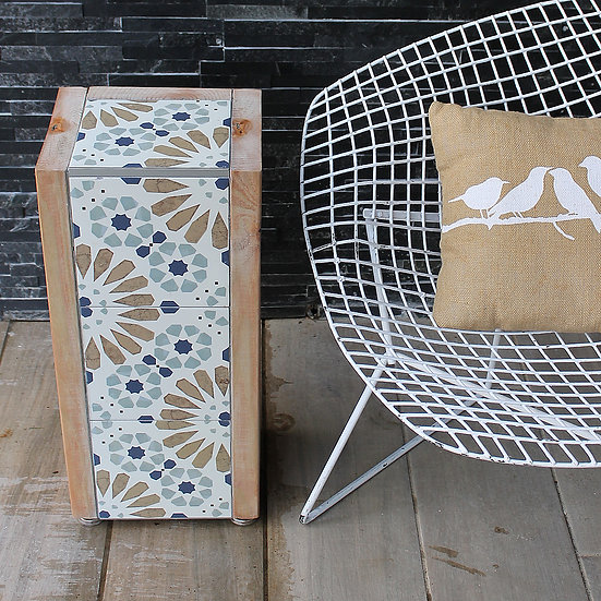 Table - Rust Pinwheel