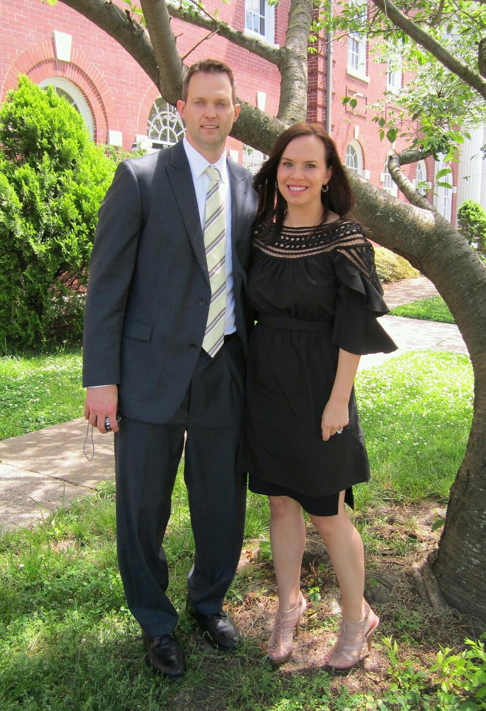 David and Paula Wideman, founder of paulaproduct, at University of North Carolina Greensboro, Department of Interior Architecture