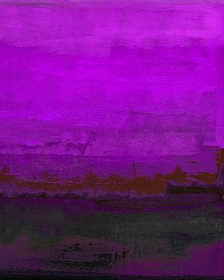 On the Lake - Violet Maroon