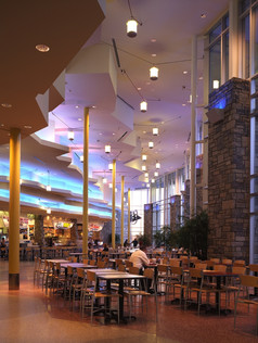 Triangle Town Center Food Court  Raleigh, North Carolina