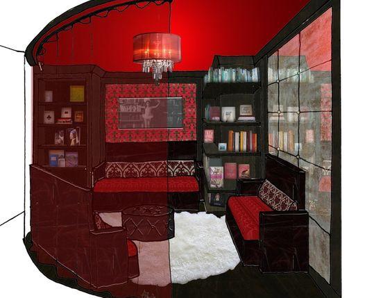 "Spanx ""Sexy Library"" Design"