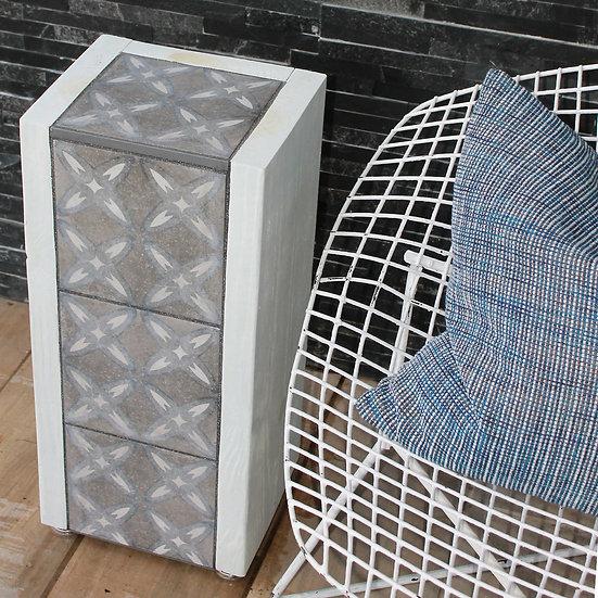 Table - White Blue Jacks