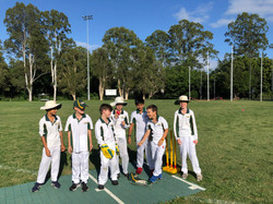 Boys and girls love cricket