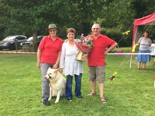 Dog show success