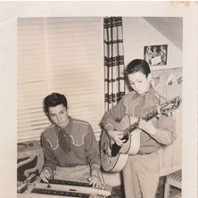 Bobby and Larry, 1950