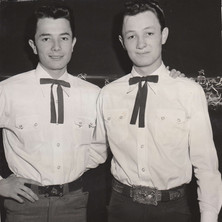 Bobby and Larry, 1953
