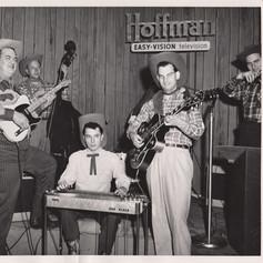 Big Jim DeNoon, Vern Orr, Bobby Black, Bill Hendricks, Tex Neal; Hoffman Hayride, KPIX Channel 5 SF, 1953