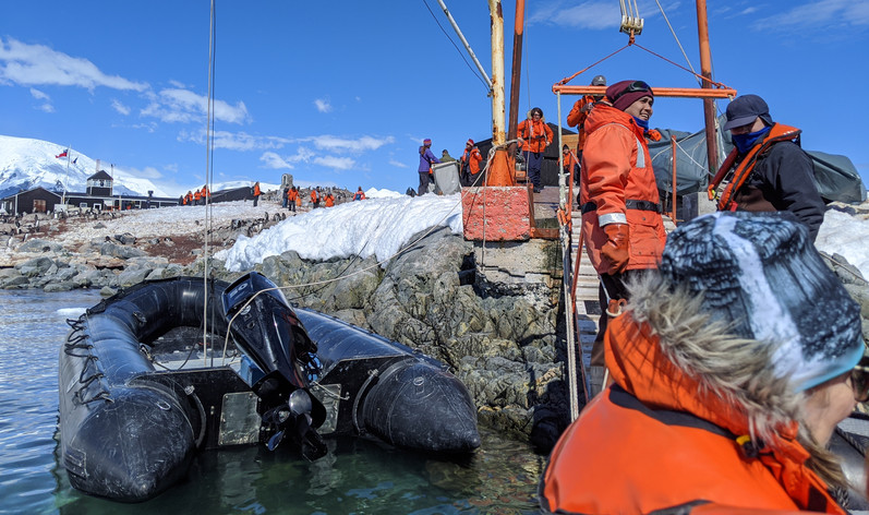 Chilean Rescue Base in Antarctica
