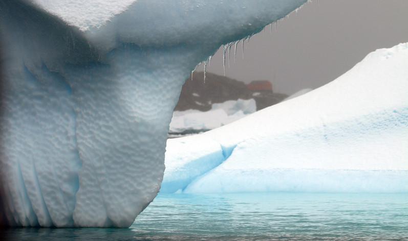 Iceberbs in Antarctica
