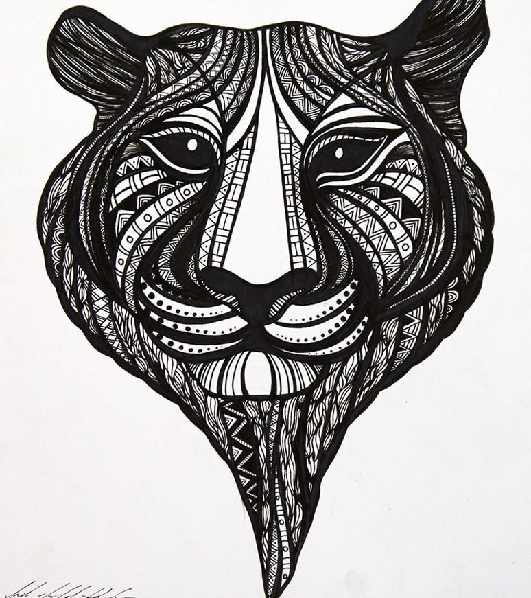 El Tigre (B&W)