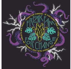 Freak Fam For Change - Sofi Tukker affiliated Flag design