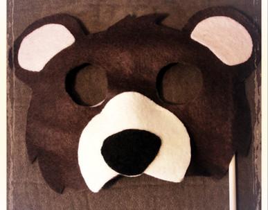 Bear Mask 2 - Rentable Item
