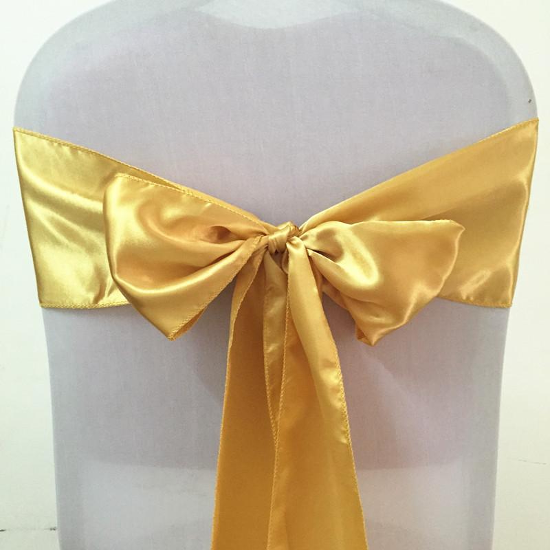 Gold Silk Sashes - Rentable Item