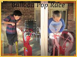 Balloon Pop Race