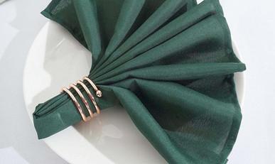 20 In. Emerald Green Napkins