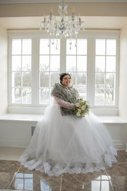Kylie Bush, Bride Model
