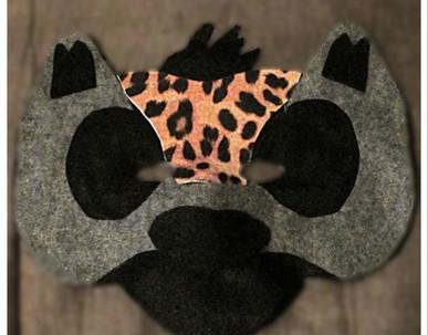 Hyena Mask - Rentable Item
