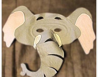 Elephant Mask - Rentable Item