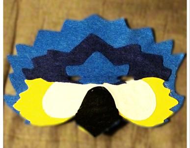 Blue McCaw Mask - Rentable Item