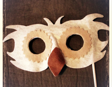 Owl Mask 3 - Rentable Item