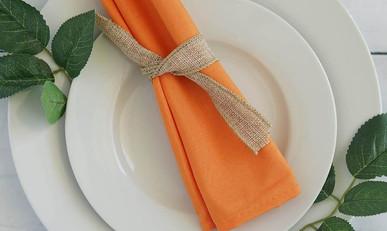 20 In. Orange Napkins