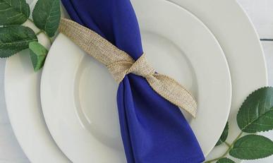 20 In. Royal Blue Napkins