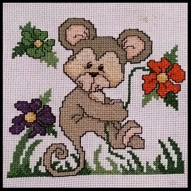 Cross Stitch Monkey