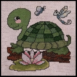 Cross Stitch Turtle