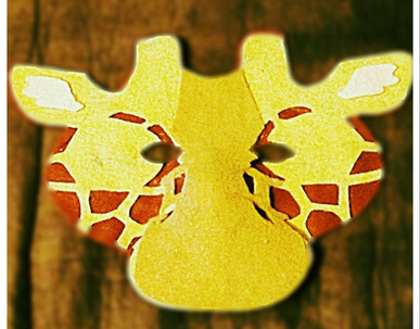 Giraffe Mask - Rentable Item