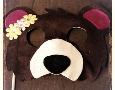 Bear Mask 1 - Rentable Item