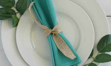 20 In. Turquoise Napkins