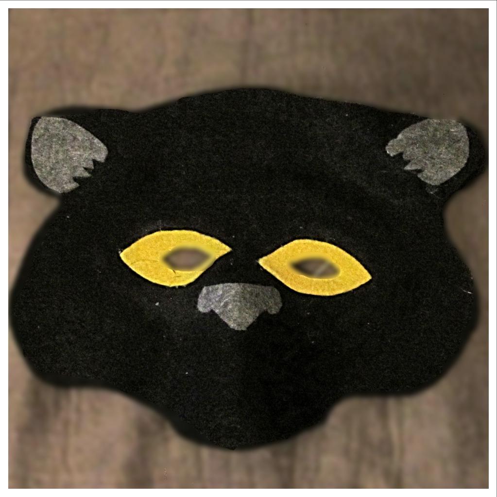 Black Panther/Jaguar Mask