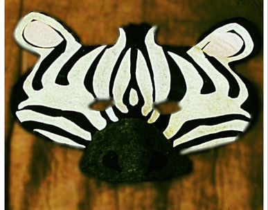 Zebra Mask - Rentable Item