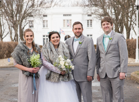 Narnia-Themed Winter Wedding