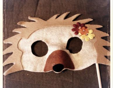 Hedge Hog Mask 3 - Rentable Item