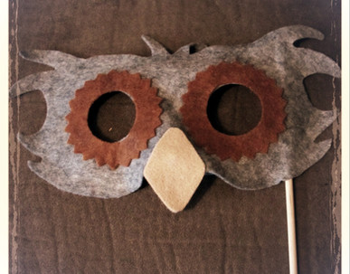 Owl Mask 2 - Rentable Item