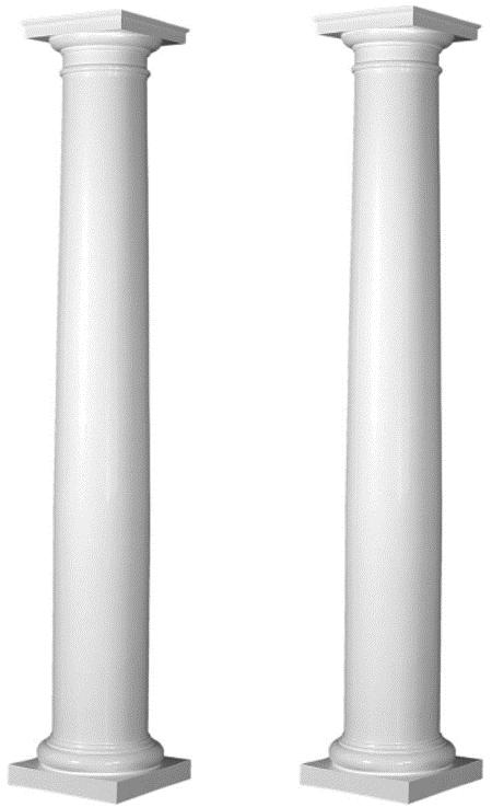 9' Decorative Pillars