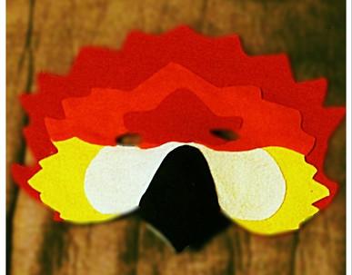 Red McCaw Mask - Rentable Item