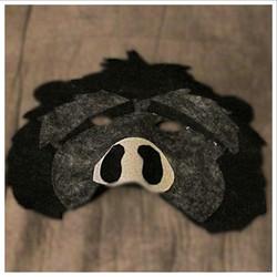 Felt Gorilla Mask