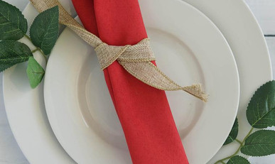 20 In. Red Napkins