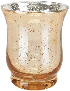 3.5'' Gold Votive Candle Holder - Rentable Item