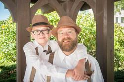Father & Son - Matt & Carson