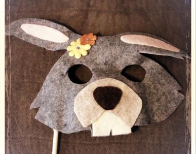 Rabbit Mask 1 - Rentable Item