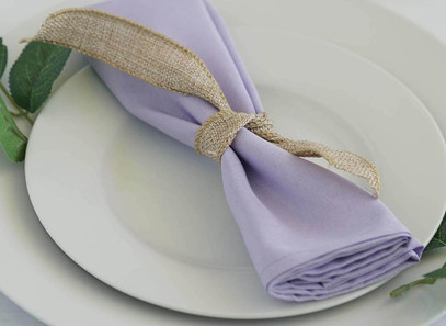 20'' Lavender Napkins - Rentable Item