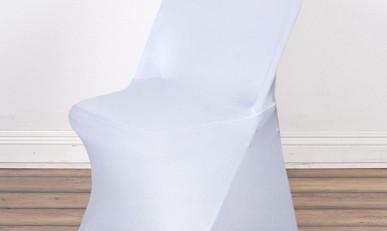 White Folding Spandex
