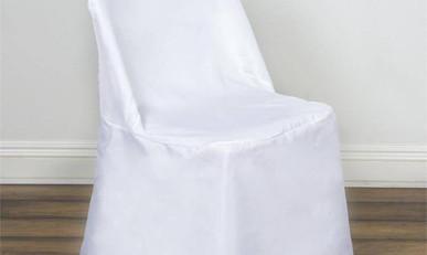 White Folding Polyester