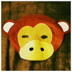 Felt Monkey Mask