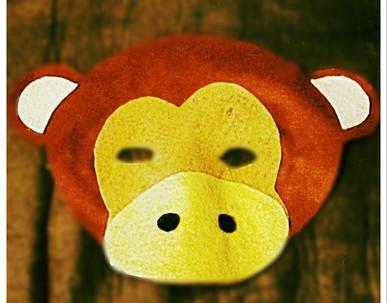 Monkey Mask - Rentable Item