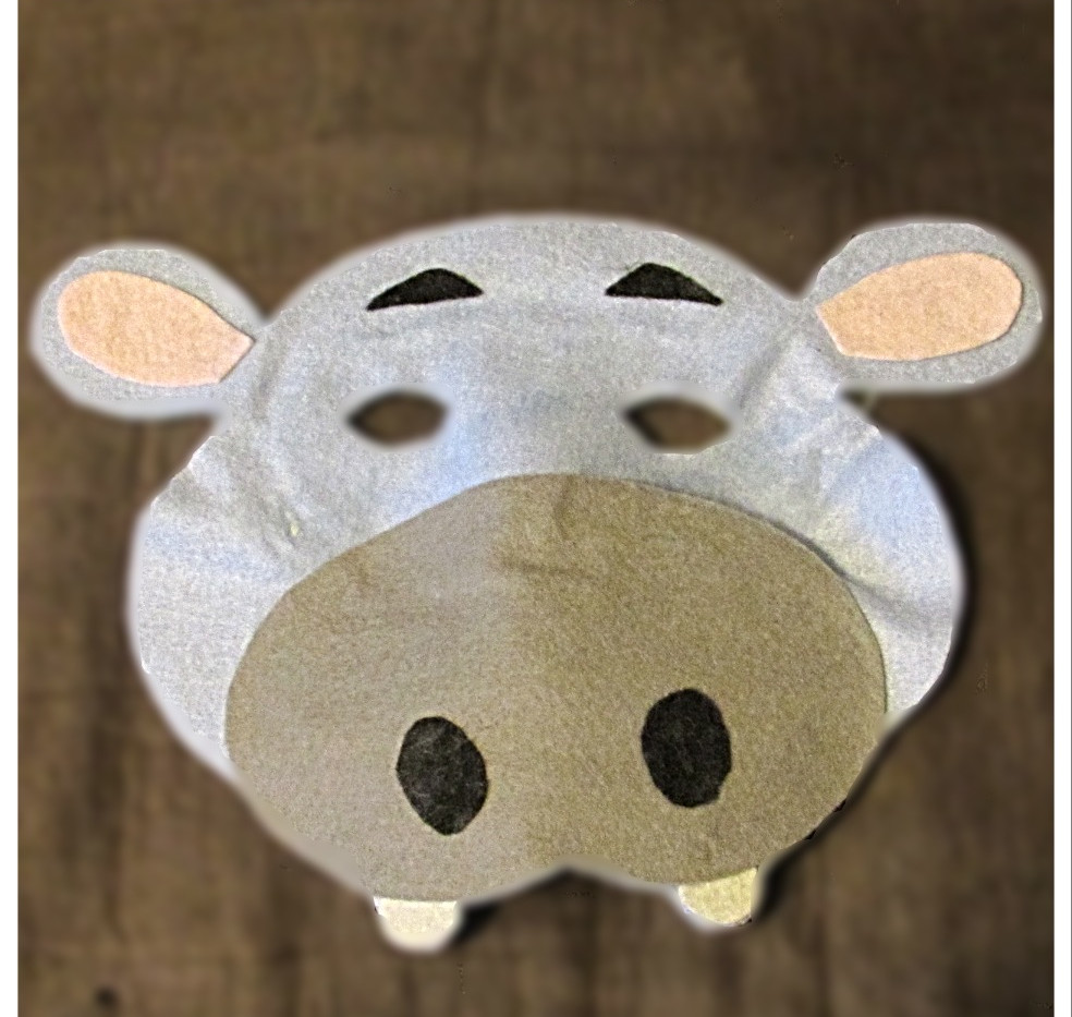 Hippo Mask - Rentable Item